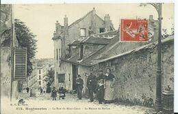 PARIS - VIEUX MONTMARTRE - La Rue Du Mont Cenis - Petits Métiers à Paris