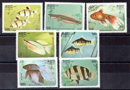 Serie De Kampuchea N ºYvert 597/03 ** PECES (SHIPS) - Kampuchea