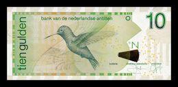 Antillas Holandesas Netherland Antilles 10 Gulden 2006 Pick 28d SC UNC - Antilles Néerlandaises (...-1986)