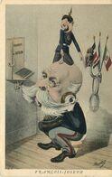 POLITIQUE SATIRIQUE  François - Joseph - Satirische