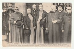 Cluny Fêtes 1910 Dont Mgr Villard évêque D'Autun - Personnes Identifiées
