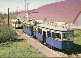 Pays Bas - Amsterdam - Electrische Mususeumtramlijn - Motrice Amsterdam 946-101 Den Haag 824 - Tramways - Amsterdam