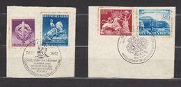 Deutsches Reich - 1941/42 - Michel Nr. 767 + 771 + 816 + 818 - Sonderstempel - Used Stamps