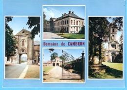"""Domaine Cistercien De L'Abbaye De Cambron-Casteau-Multivues+/-1980-Futur """"Parc Paradisio""""--> """"Pairi-Daiza"""" - Brugelette"""