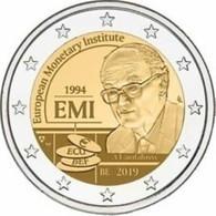 Belgie 2019  2 Euro Commemo  25 Jaar EMI  UNC Uit De Coincard    Extreme Rare !!! - Bélgica