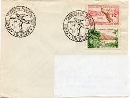 TOULOUSE (HAUTE GARONNE) : PETANQUE CHAMPIONNAT DE FRANCE1958 Oblitération Temporaire - Bowls