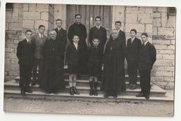Petit Séminaire De Rimont 71 - Classe De Quatrième 1931-1932 - M. Le Chanoine Merle, Supérieur - Personnes Identifiées