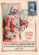 TOULOUSE (HAUTE GARONNE) : JOURNEE DU TIMBRE 1953 Oblitération Temporaire Sur CARTE POSTALE - Post