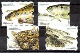Serie De Portugal N ºYvert 3592/95 ** PECES (SHIPS) - 1910-... République