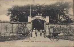 CPA Vietnam Viet Nam Indochine Hanoï Entrée Quartier D'artillerie Coloniale Collection L.L. Quartier Borgnis Desbordes - Vietnam