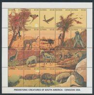 Guyane Prehistoric /Prehistoire    Sheetlet - Turtles