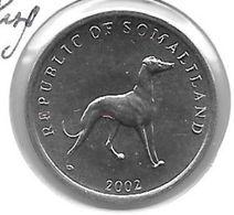 *somaliland 20 Shilling 2002  Km 6  Bu - Monedas