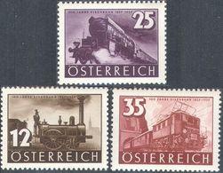 M4361 ✅ Transport Trains Railroad 1937 Austria 3v Set MNH ** 18ME - Trains