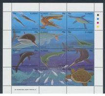 Saint Vincent Grenadines Prehistoric /Prehistoire    Sheetlet - Turtles