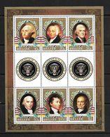 BELIZE 1986 PRESIDENTS AMERICAINS  YVERT N°788/93  NEUF MNH** - George Washington