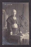 CPA Autographe Signature à L'encre Dédicace Carte Photo Marc Galuzzi Belgique Voir Scan Du Dos Opéra Bruneaux - Autographes
