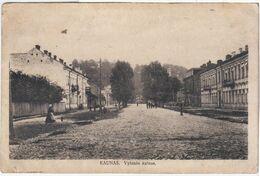 Lithuania Lietuva Litauen 1920 Kaunas Kowno Kovna Kovno Kowna - Lituania