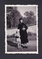 Photo Originale Vintage Snapshot Verdun Meuse Près Du Parc Denise Mantelet Et Sa Mère Anne Madeleine - Personnes Identifiées