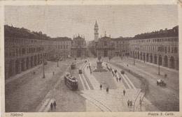 Italie - Torino - Piazza San Carlo - Places