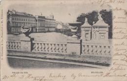 Belgique - Bruxelles - Palais Du Roi - Editeur Blumlein Francfort - Postmarked Everbecq 1900 St-Leu-d'Esserent - Monumenti, Edifici