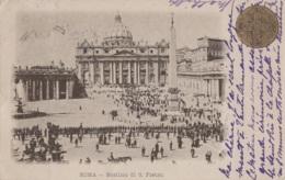 Italie - Roma - Basilica Di San Pietro - 1901 - San Pietro