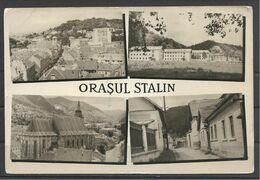 Romania, Orasul Stalin(1950-60), Brasov, Brassó, Kronstadt,  Multi View, 1957. - Rumania