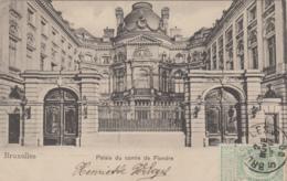 Belgique - Bruxelles - Palais Du Comte De Flandre - 1900 - Monumenti, Edifici