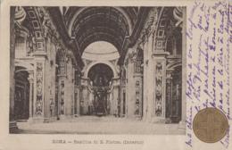 Italie - Roma - Basilica Di San Pietro - Interno - San Pietro