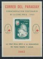 Panama   Nobel Red Cross Croix Rouge Imperf  MNH - Nobel Prize Laureates