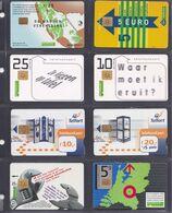 PAYS BAS 8 Cartes Téléphonique - Schede Telefoniche