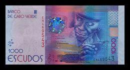 Cabo Cape Verde 1000 Escudos 2014 Pick 73 SC UNC - Cabo Verde