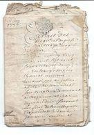 PROMO   Plusieurs Actes Notariés Un Du 31 Mars 1772  Bar Le Duc Meuse 26 Pages Au Total Dont 18 En Parchemin - Manoscritti