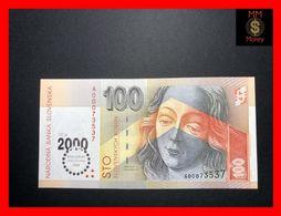 SLOVAKIA 100 Korun  2000   P. 36  *COMMEMORATIVE*   UNC - Slowakije