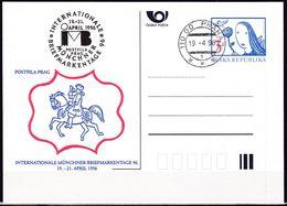 Cesca, 1996, P 18 - A 1, Münchener Briefmarkentage, Munich Stamp Days - Ganzsachen