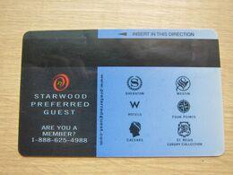 Starwood Preferred Guest - Chiavi Elettroniche Di Alberghi