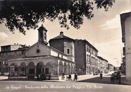 Cartolina Di Empoli - Santuario Della Madonna Del Pozzo E Via Roma - Empoli
