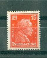 ALLEMAGNE République De Weimar - N° 383* MH - Personnalités - Emmanuel Kant. - Germany