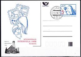 Cesca, 1996, P 18 - A 2, Böhmerwald Interphila, Sumava - Ganzsachen