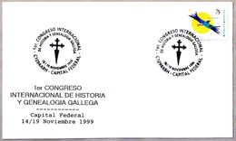 CONGRESO INTERN. HISTORIA Y GENEALOGIA GALLEGA - Galicia. Buenos Aires, Argentina, 1999 - Covers