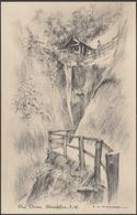 The Chine, Shanklin, Isle Of Wight, C.1920s - SL Aldridge Postcard - Angleterre