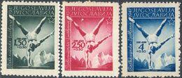 M4335 ✅ Sport Gymnastics 1947 Yugoslavia 3v Set MNH ** 15ME - Gymnastics