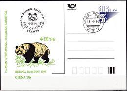 Cesca, 1996, P 19 - A 1, CHINA, BEIJING '96 - Ganzsachen