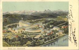 Cpa 1903 - Gruss Aus SCHINZNACH (tampon SCHINZNACH LES BAINS - Concierge) Edition F. Pattri - AG Argovie