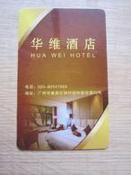 Hua Wei Hotel, Guangzhou - Chiavi Elettroniche Di Alberghi