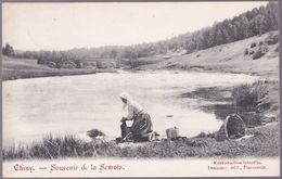 CPA - Chiny - Souvenir De La Semois - Lavandière  - 1907 - Chiny