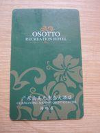 Osotto Recreation Hotel, Guangzhou - Chiavi Elettroniche Di Alberghi