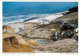 1 AK Island / Iceland * Solfatarenfeld Nahe Der Bergkette Kverkfjöll * - Iceland