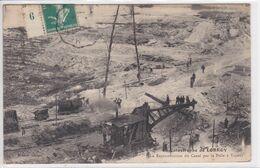 77 CHATEAU LANDON ,catastrophe De Lorroy ,reconstruction Du Canal Par La Pelle à Vapeur - Chateau Landon