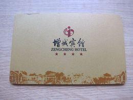 Zengcheng Hotel,Guangzhou,edge With Damages - Chiavi Elettroniche Di Alberghi