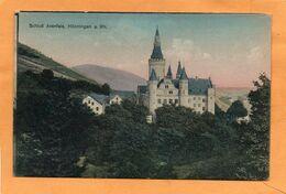 Honningan Am Rhein  Germany 1908 Postcard - Bad Hoenningen